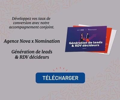 Agence Nova Contenu Nomination